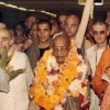 Prabhupada Reading His Own Books